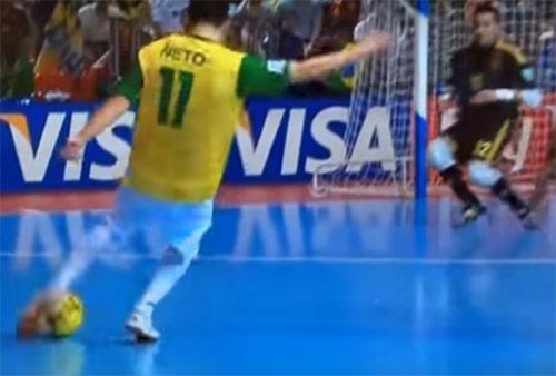 フットサルW杯決勝ダイジェスト(ブラジル vs スペイン)